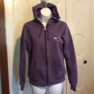 Great Nike Classic Purple Hoodie